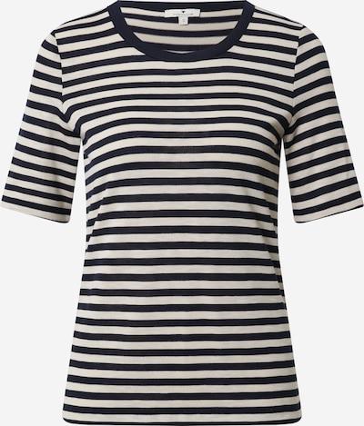 TOM TAILOR T-Shirt in navy / weiß, Produktansicht