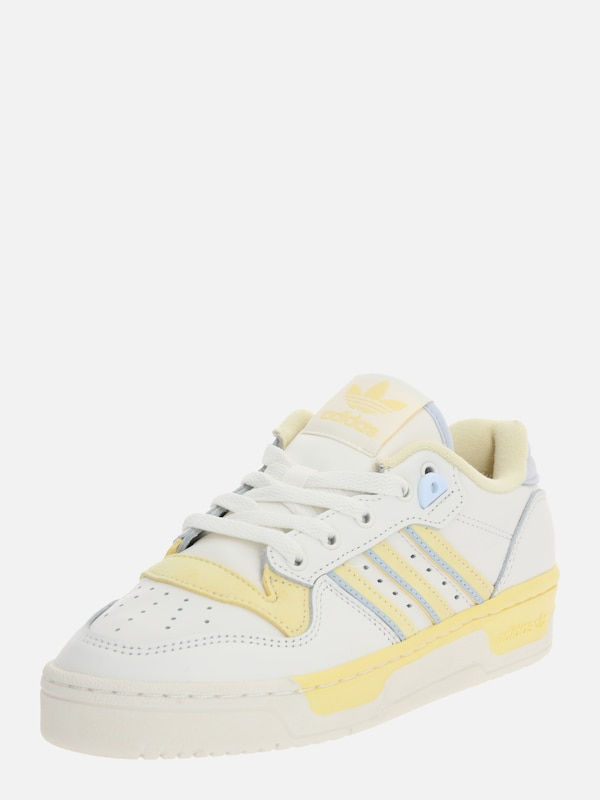 ADIDAS ORIGINALS Sneaker 'RIVALRY LOW' in gelb offwhite