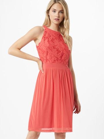 s.Oliver Φόρεμα κοκτέιλ σε ροζ