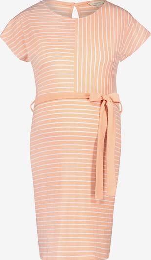 Noppies Kleid 'Daantje' in apricot / weiß: Frontalansicht