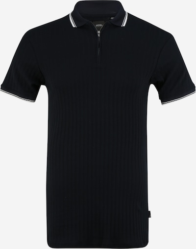 BURTON MENSWEAR LONDON (Big & Tall) Shirt 'B&T' in schwarz / weiß, Produktansicht