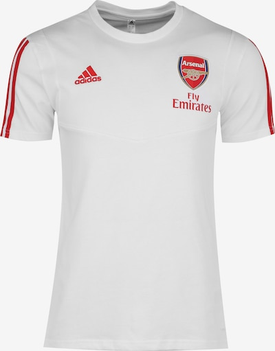 ADIDAS PERFORMANCE Trainingsshirt 'FC Arsenal' in rot / weiß, Produktansicht