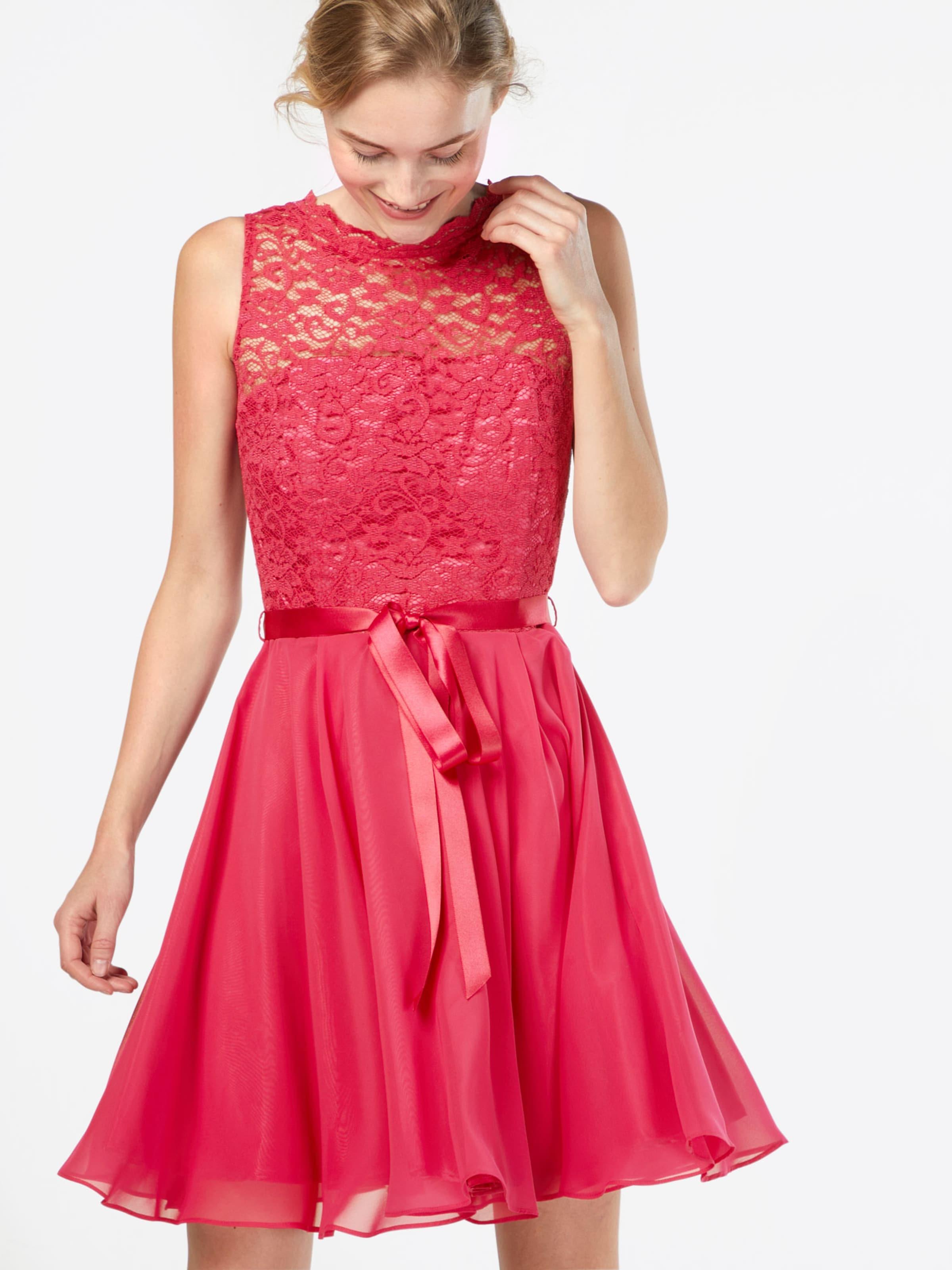 SWING Kleid 'Cocktailkleid mit Spitzenoberteil' Für Billig Zu Verkaufen cGfVQRZFi