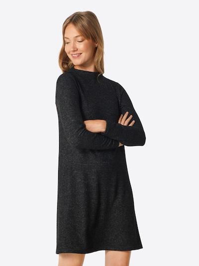 ONLY Robes en maille 'KLEO' en noir chiné, Vue avec modèle