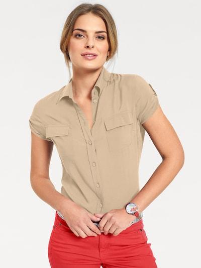 Camicia da donna B.C. Best Connections by heine di colore beige: Vista frontale