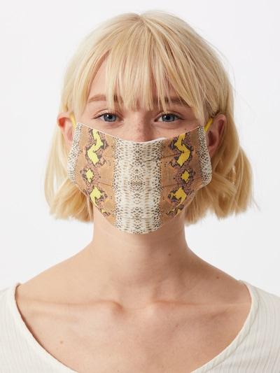 CODELLO Masque en tissu 'Cover Up' en beige / mélange de couleurs: Vue de face