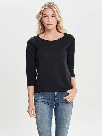 JACQUELINE de YONG Pullover in schwarz, Modelansicht