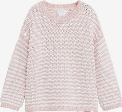 MANGO KIDS Svetr 'SUGAR' - růžová / bílá, Produkt