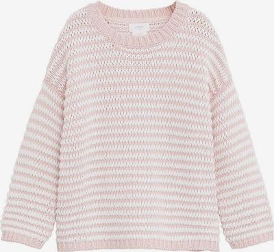 MANGO KIDS Pulover 'SUGAR' | roza / bela barva, Prikaz izdelka