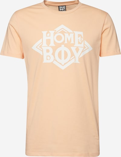 HOMEBOY Shirt 'TAKE YOU HOME TEE' in apricot / weiß, Produktansicht
