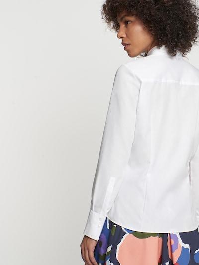 SEIDENSTICKER Bluse in weiß: Rückansicht