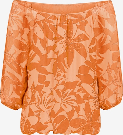 Public Bluse in orange / dunkelorange, Produktansicht