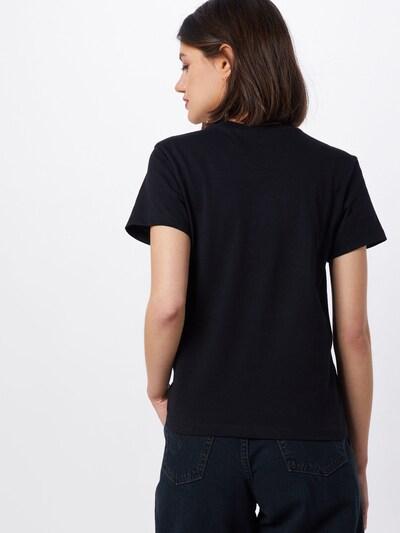 Marškinėliai 'FLYING V' iš VANS , spalva - juoda / balta: Vaizdas iš galinės pusės