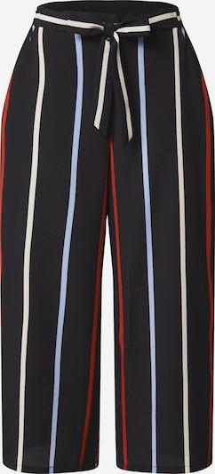 Pantaloni TOM TAILOR DENIM pe albastru / roșu / negru / alb, Vizualizare produs