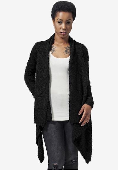 Urban Classics Strickjacke in schwarz, Modelansicht
