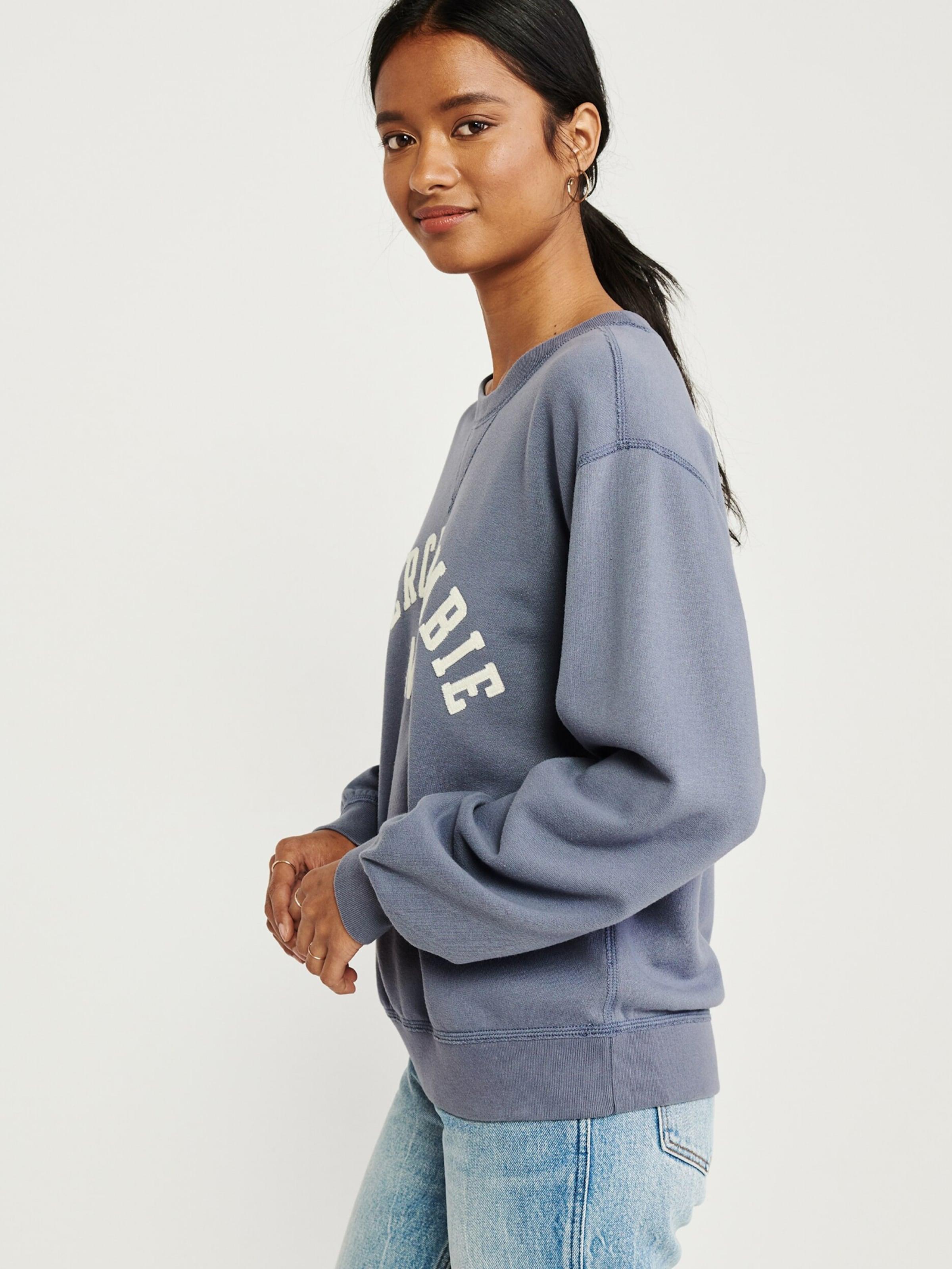 In In Blau Sweatshirt Abercrombieamp; Abercrombieamp; Fitch Fitch Sweatshirt wvn0Nm8
