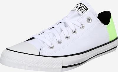 CONVERSE Sneaker in neongrün / schwarz / weiß, Produktansicht