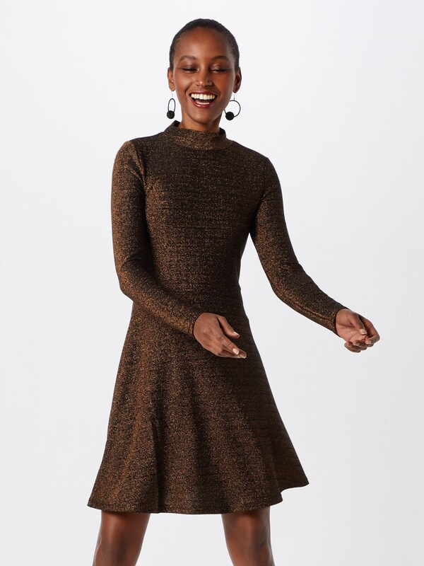 Cocktail Vila 'viglowa s Robe De En L Bronze Dress' BoeECQrxdW