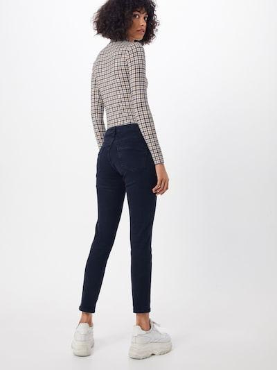 Jeans Rich & Royal pe denim albastru: Privire spate