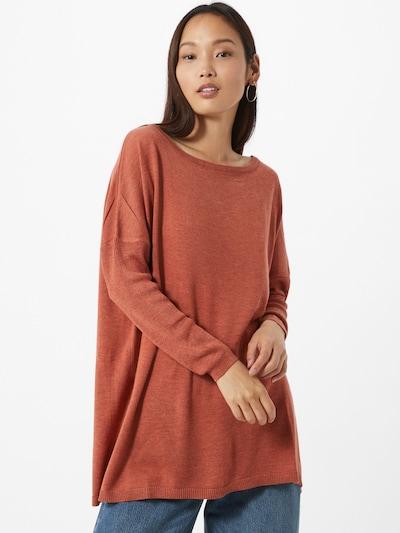JACQUELINE de YONG Pullover 'Zoe' in orangerot, Modelansicht
