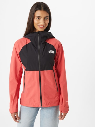 THE NORTH FACE Veste de sport 'IMPENDOR' en grenadine / noir: Vue de face