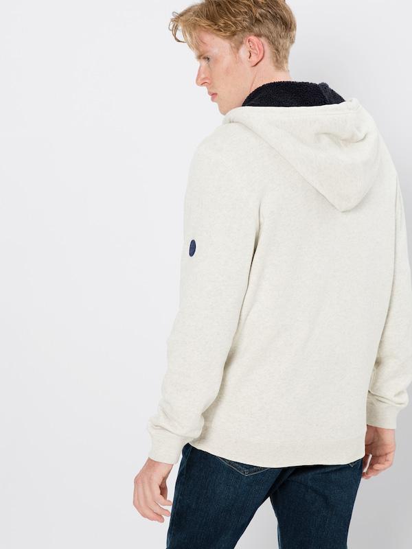 En Edc Hood' Veste 'teddyfur Survêtement Blanc De By Esprit Cassé srhdCtQ