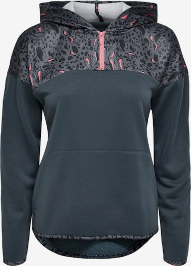 ONLY PLAY Sweatshirt in graphit / pink, Produktansicht