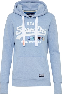 Superdry Sweatshirt 'VNTGE LOGO FOIL POP ENTRY'