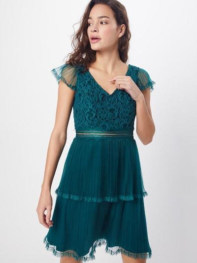 Laona Kleid in smaragd, Modelansicht