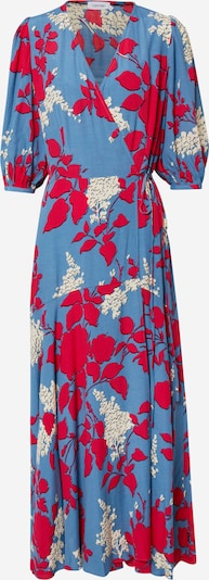 Rochie Calvin Klein pe albastru / roșu sânge / alb, Vizualizare produs