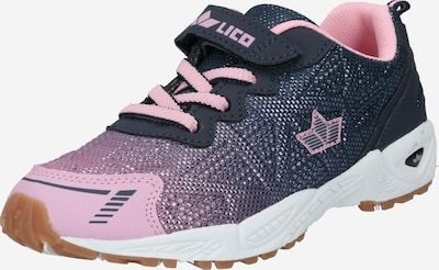 LICO Sneaker 'Flori' in marine / lila / dunkellila / pink, Produktansicht
