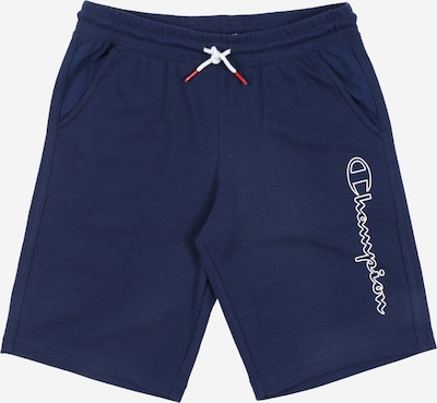 Champion Authentic Athletic Apparel Broek 'Bermuda' in de kleur Navy / Lichtblauw, Productweergave