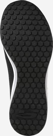 SKECHERS Baskets basses 'Skech-Air Element' en noir / blanc: Vue de dessous