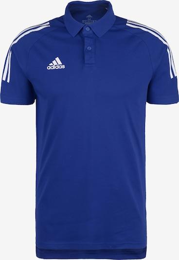 ADIDAS PERFORMANCE Poloshirt 'Condivo 20' in blau: Frontalansicht