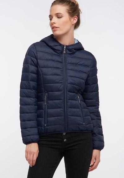 DREIMASTER Winterjas in de kleur Marine: Vooraanzicht