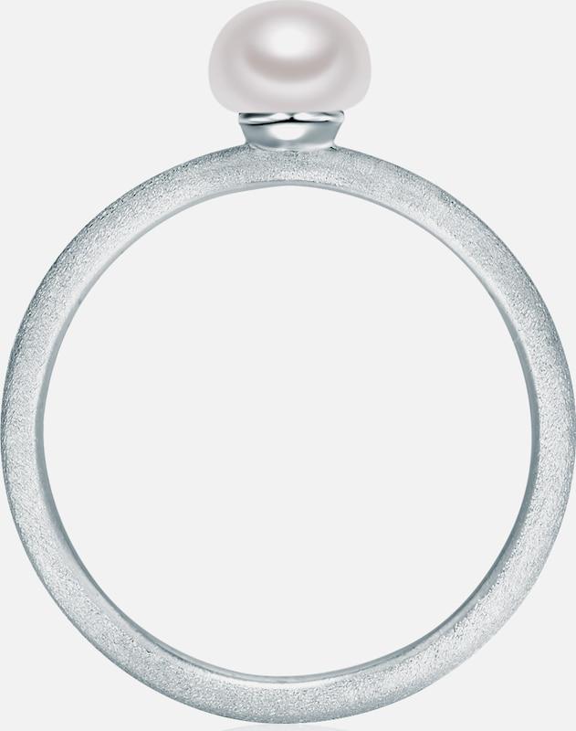 Valero Pearls Silberring mit Süßwasser-Zuchtperle