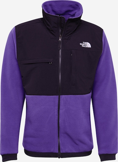 THE NORTH FACE Veste outdoor 'Denali' en violet / noir, Vue avec produit