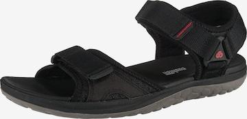 CLARKS Sandale 'Step Beat Sun' in Schwarz