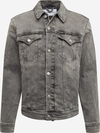 Calvin Klein Jeans Kurtka przejściowa 'Foundation' w kolorze szary denimm, Podgląd produktu