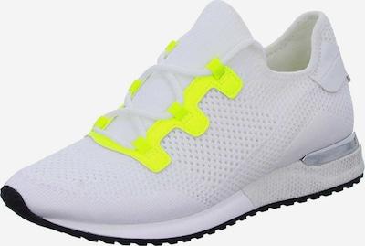 LA STRADA Sneaker in neongelb / weiß, Produktansicht