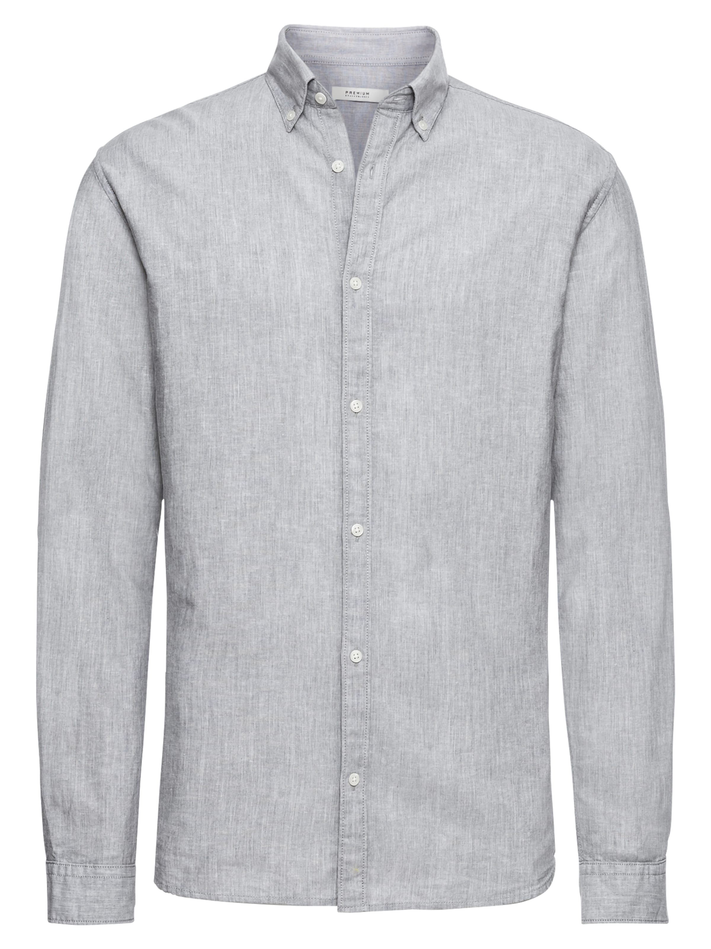 'jprsummer Hemd In Down Jones Graumeliert Jackamp; Sts' L Shirt s Button QCeBorWEdx