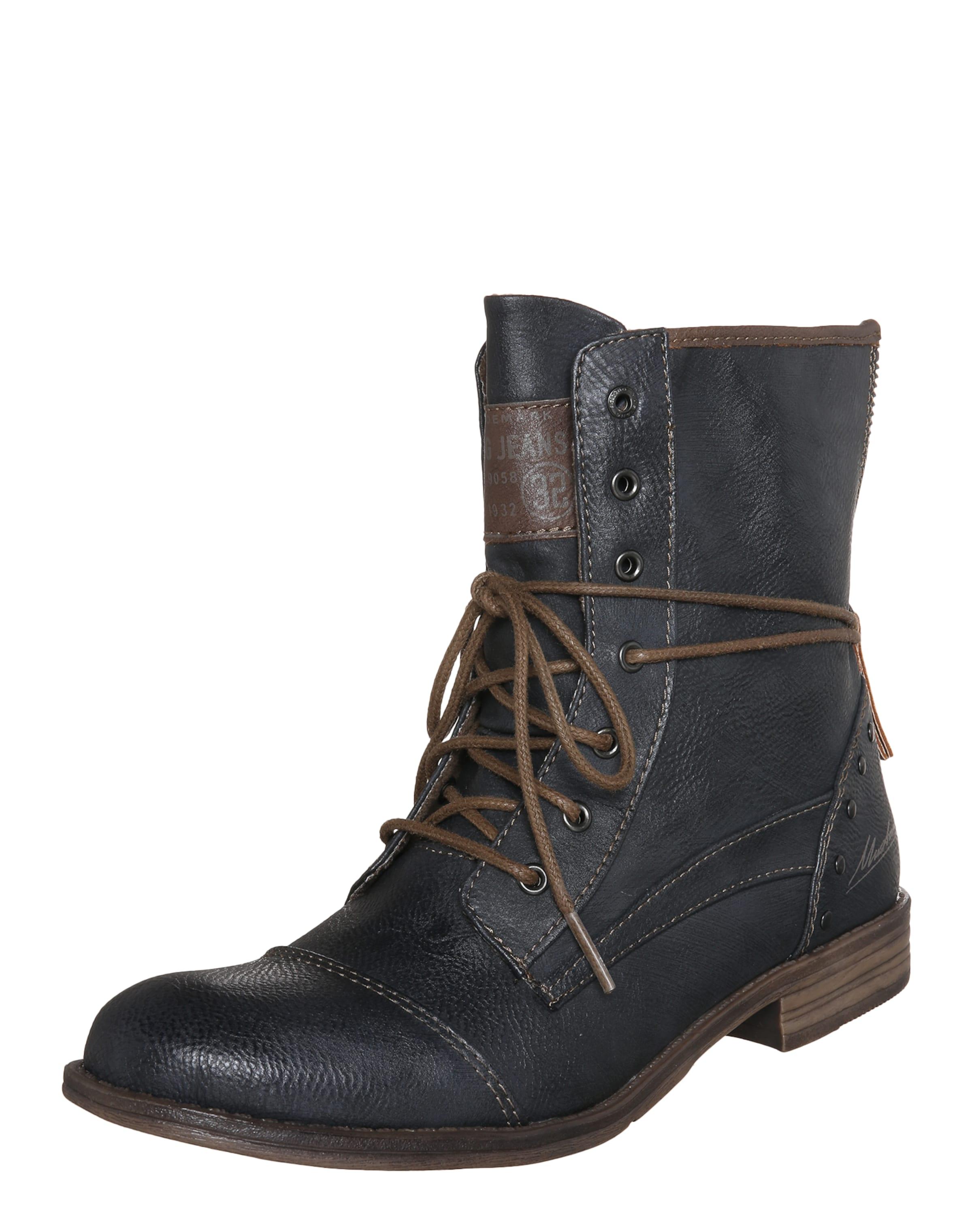 MUSTANG Schnürstiefelette Verschleißfeste Schuhe billige Schuhe Verschleißfeste Hohe Qualität 1a0703