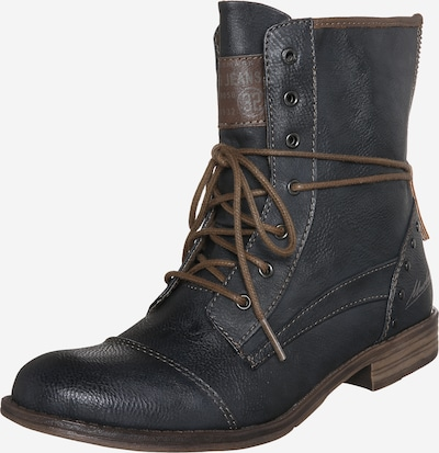 MUSTANG Lace-up bootie in graphite, Item view