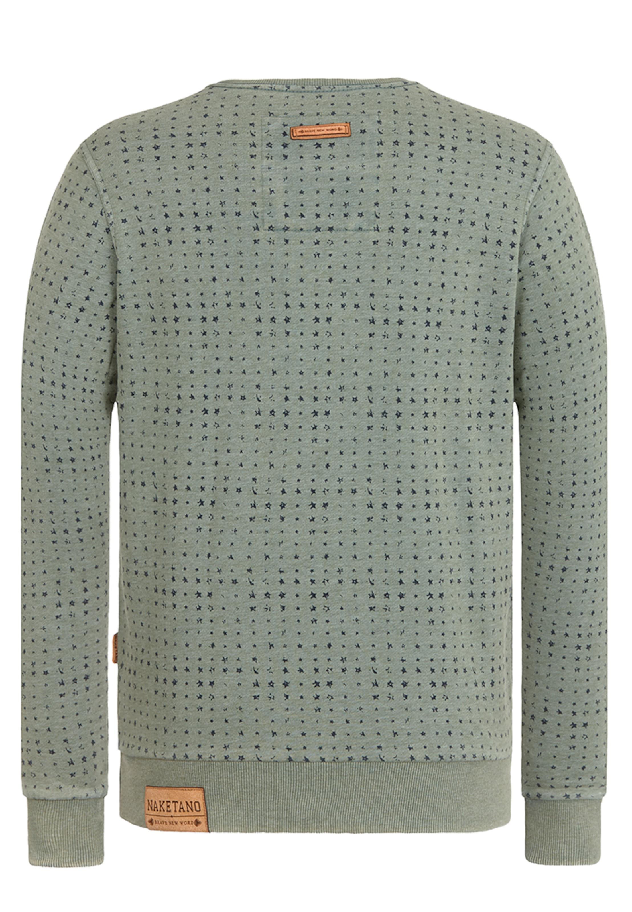 Neueste Online naketano Male Sweatshirt 'Tinte Aufm Füller III' Neueste Online-Verkauf m8UGfl