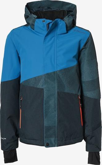BRUNOTTI Skijacke 'Idaho' in blau / taubenblau / schwarz, Produktansicht