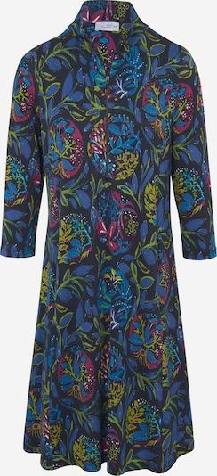Looxent Jersey-Kleid mit 3/4-Arm in blau / grün / rot, Produktansicht