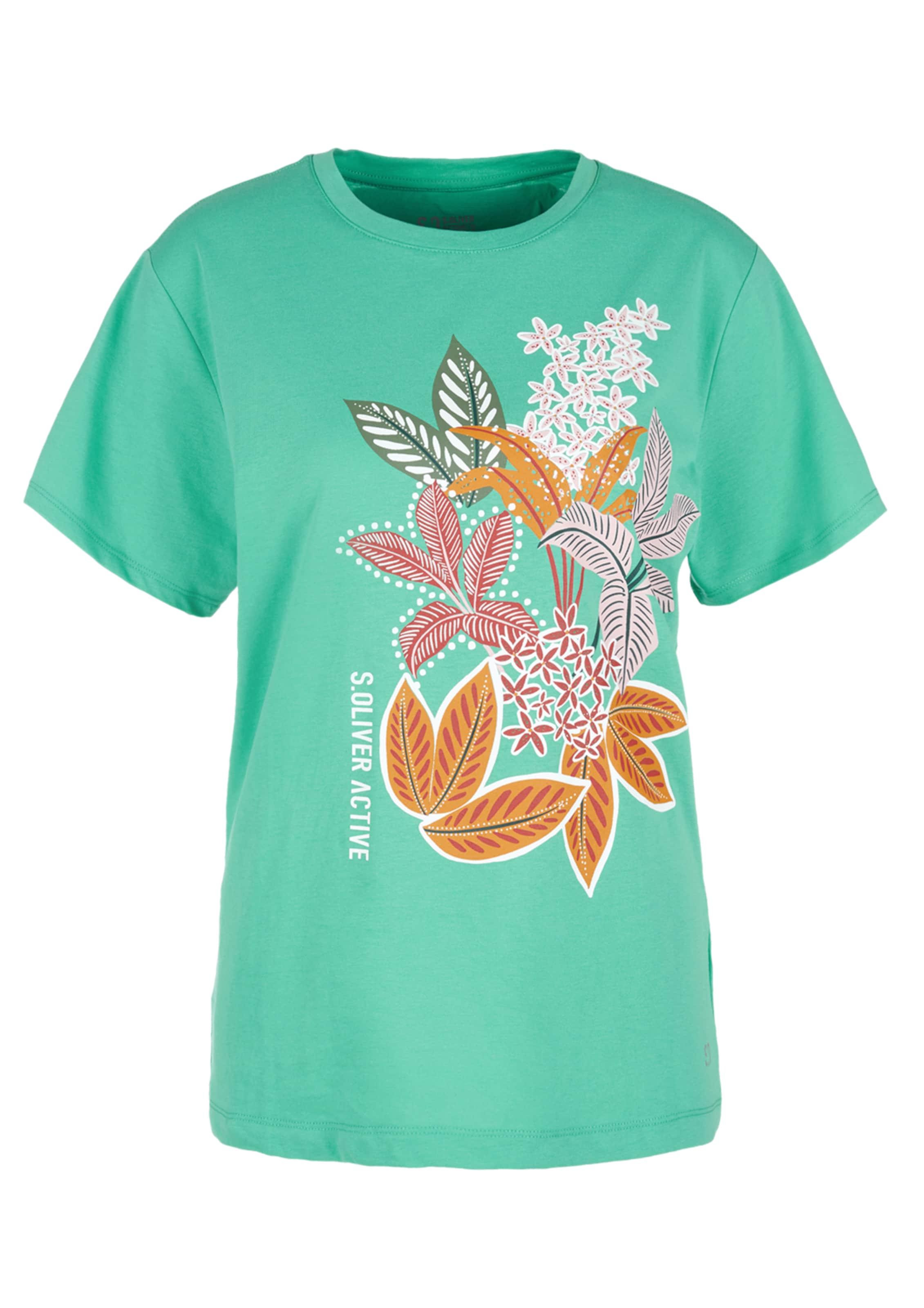 oliver T In shirt JadeMischfarben S Active LzSpGMqUV