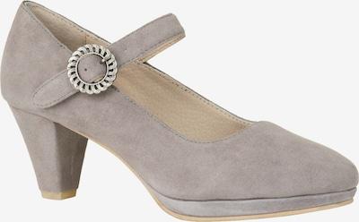 STOCKERPOINT Klederdracht schoenen in de kleur Taupe, Productweergave