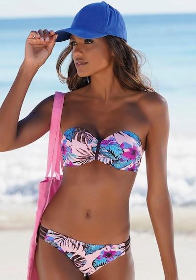 VENICE BEACH Spodní díl plavek - růžová: Pohled zepředu