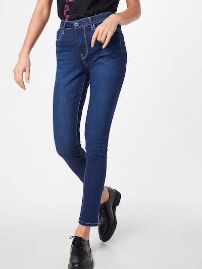 Pepe Jeans Jean 'Regent' en bleu denim: Vue de face